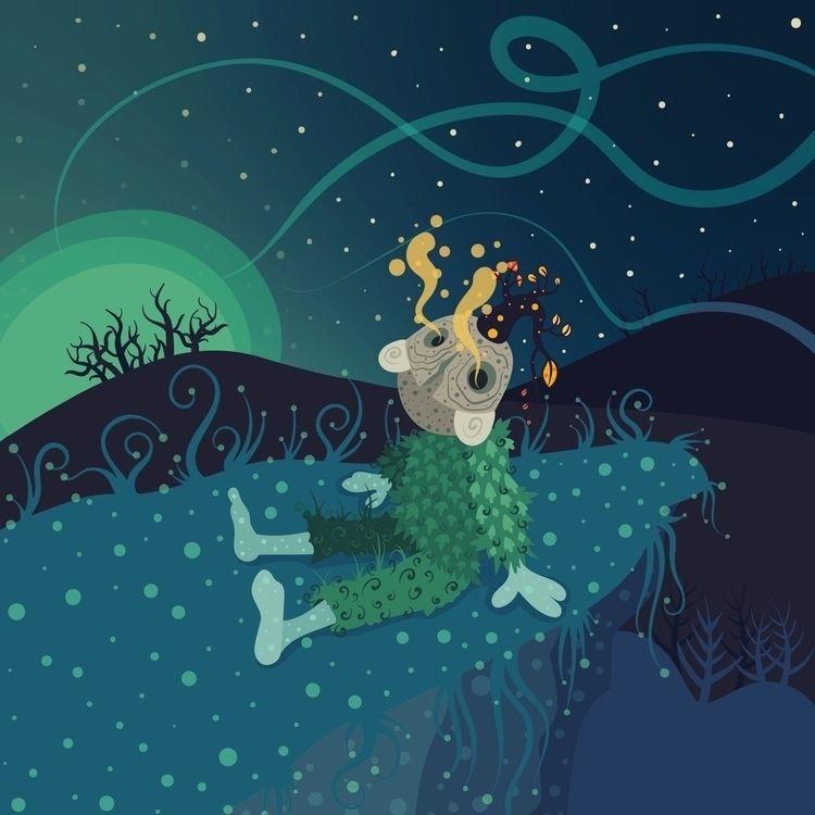 """Wilting Hour - nature, night, nightlife - sevsup | ello"