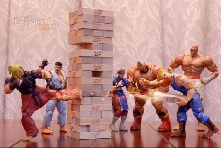 Puzzle Fighters - toyphotography - toyfighterturbo | ello