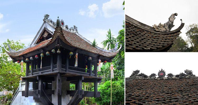 Architecture style Pillar roof  - vietnamtravelatl   ello