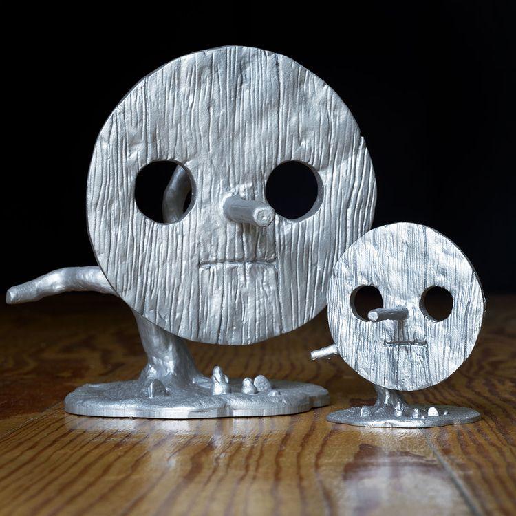 stainless steel 3D print sculpt - heikomuller   ello
