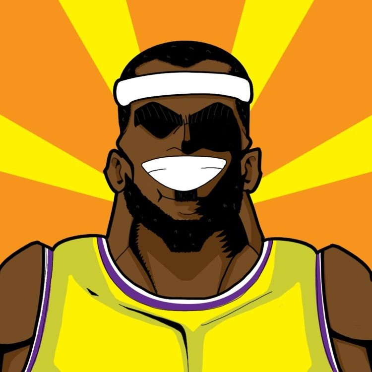 LeMight James! Lakers clinch 1s - rasadesign | ello