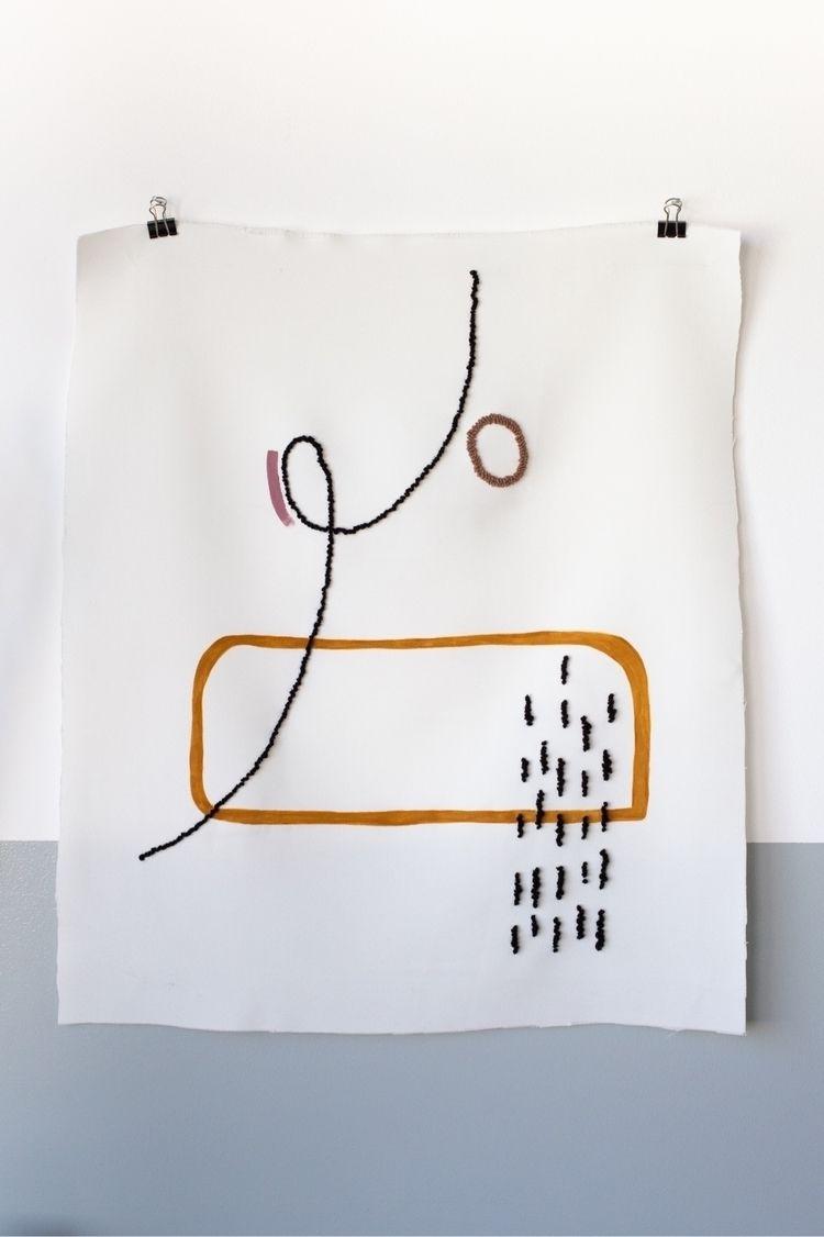 • Acrylic embroidery white cott - nalosik | ello