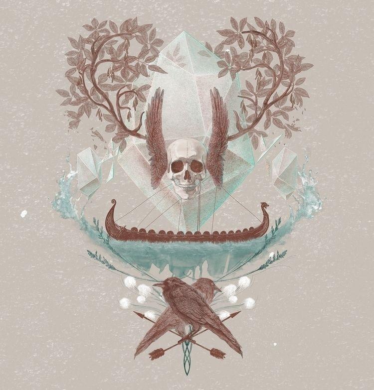 spoonflower, artsale, gifts, celebration - helgagorshe | ello