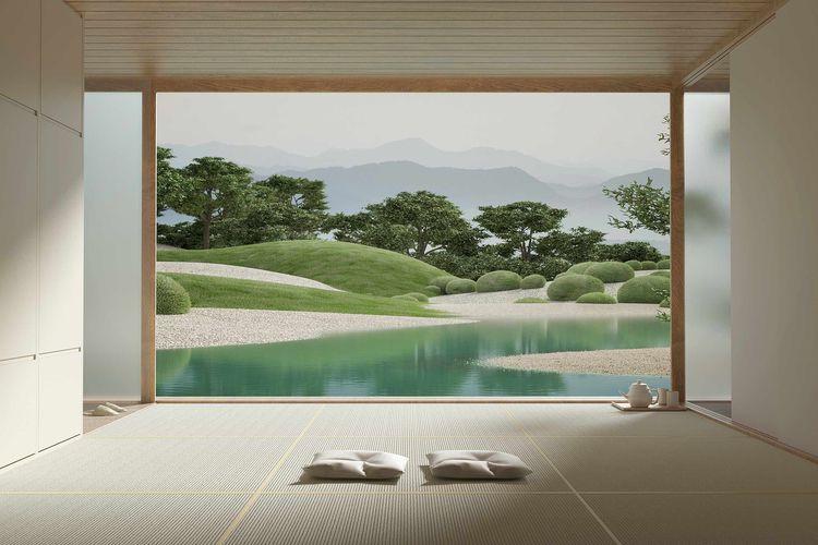 Mood: Japanese Garden talking c - minimalissimo   ello