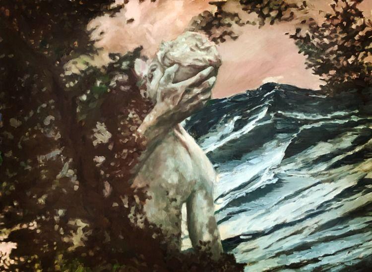 art, oilpainting, painting, figure - miketrujillo | ello