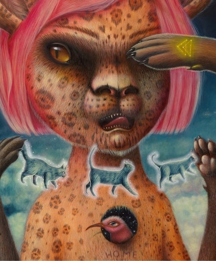 LA , painting Nahual(privatecol - peca-art   ello