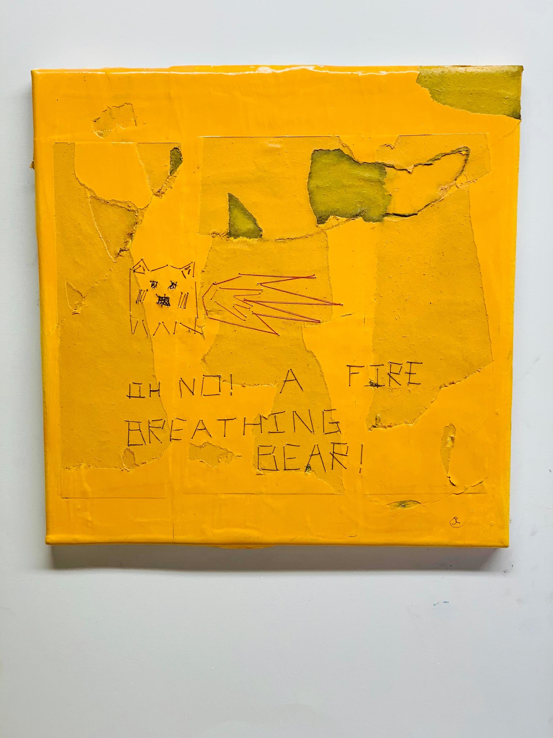 Fire Breathing Bear! (2020) 12  - jkalamarz   ello