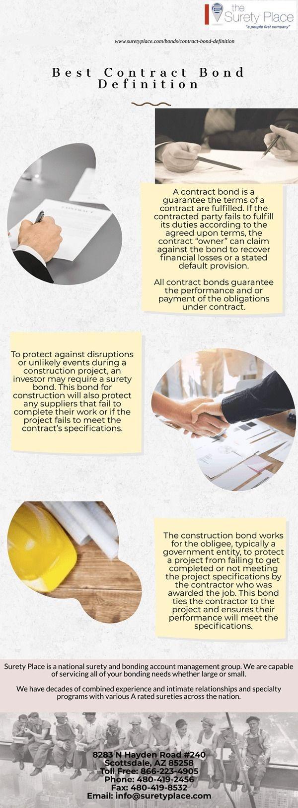 Contract Bond Definition contra - suretyplace | ello