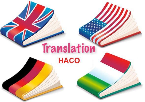 Dịch thuật HACO chuyên cung cấp - daytiengviethaco | ello