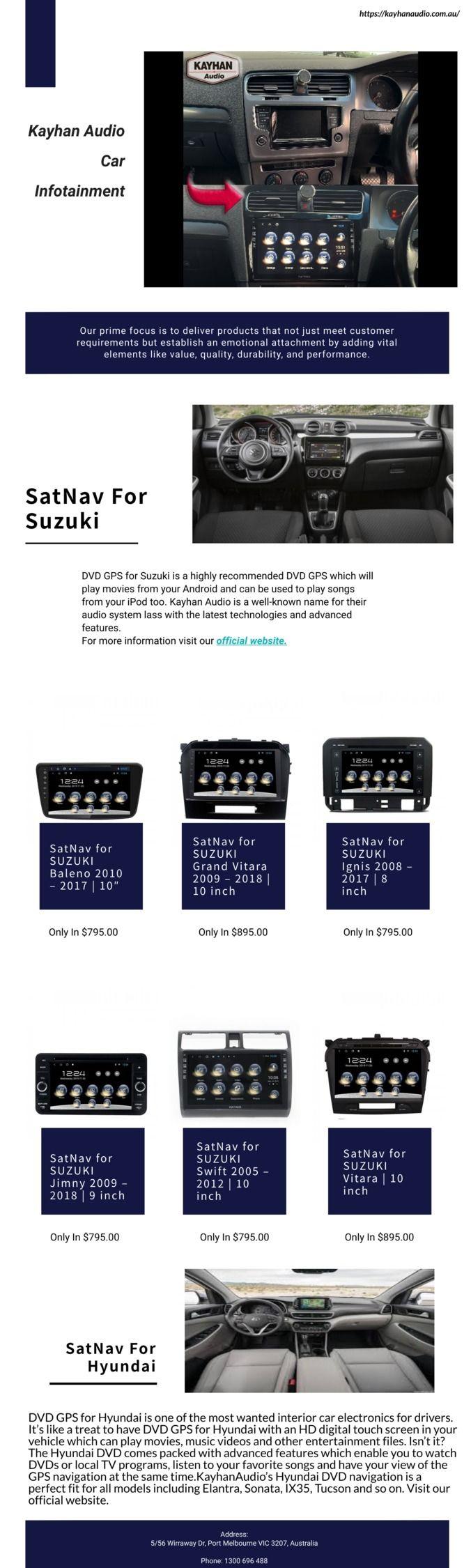 SatNav Suzuki Affordable Price  - kayhanaudio | ello