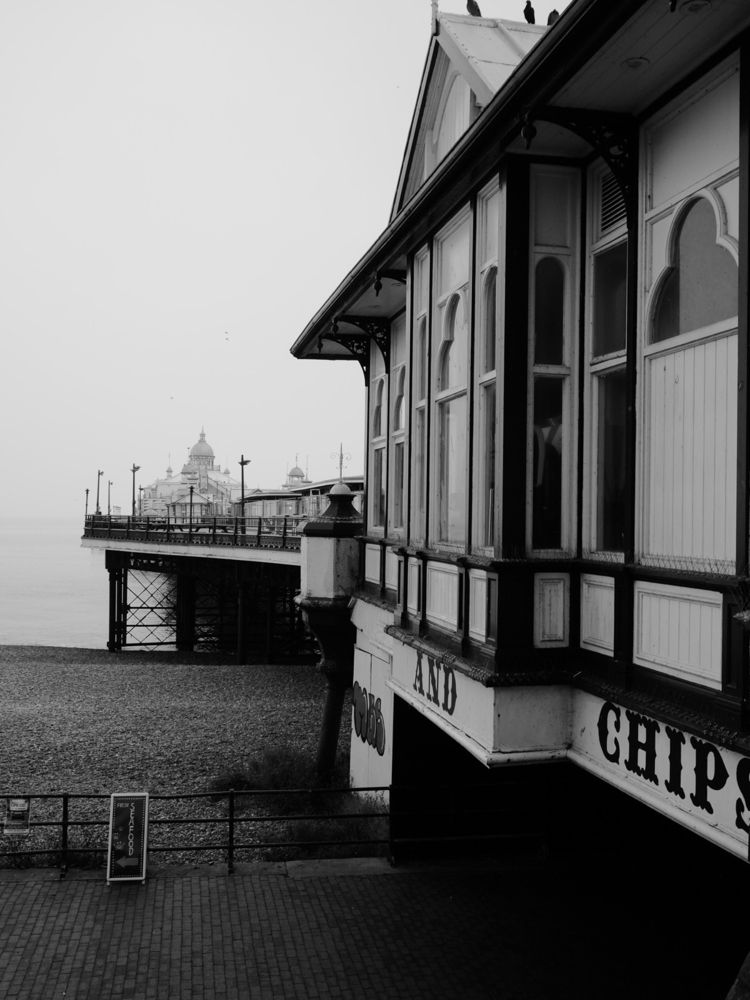 Eastbourne Pier, detail - pier, Sussex - skazman | ello