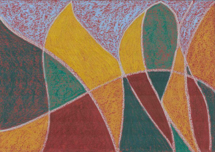 Autumn - abstract, pastel - vahupe   ello
