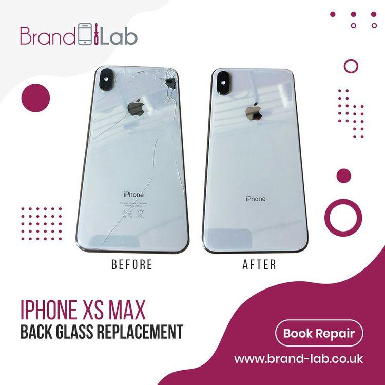 iPhone XS Max good cracked glas - sophiaella   ello