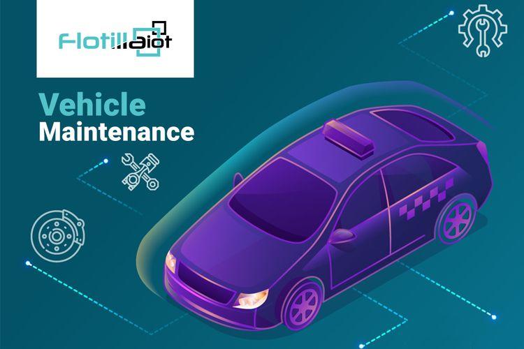 vehicle maintained consume 50%  - flotillaiot | ello