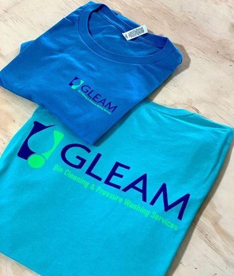 Printing friends Gleam today! l - legendarycustomapparel | ello
