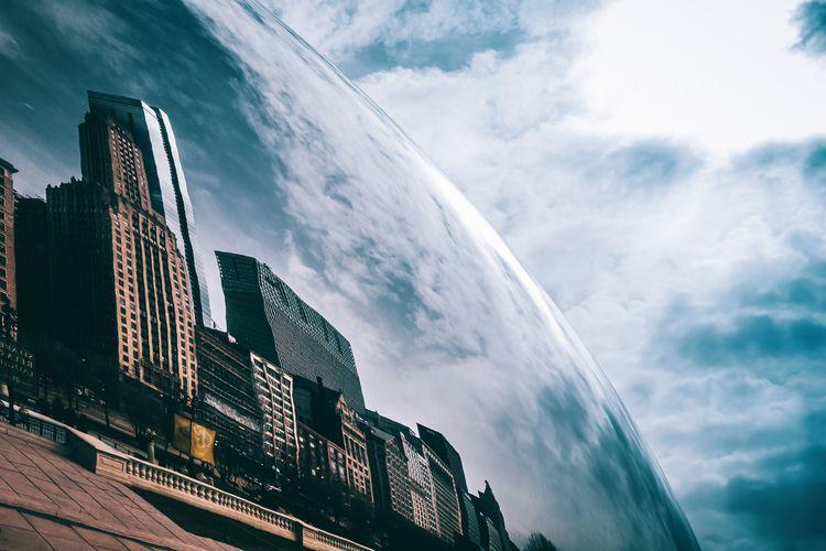 Urban Reflections Anish Cloud G - 75centralphotography | ello