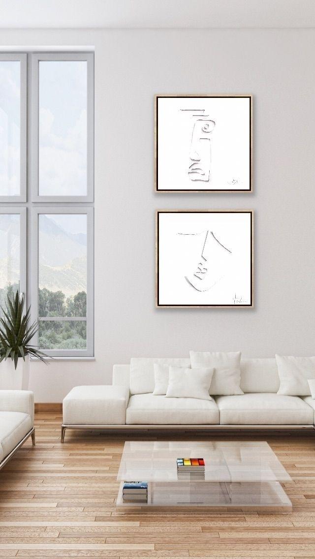 Minimalist artwork Jo Bevan. Ab - jo_bevan | ello