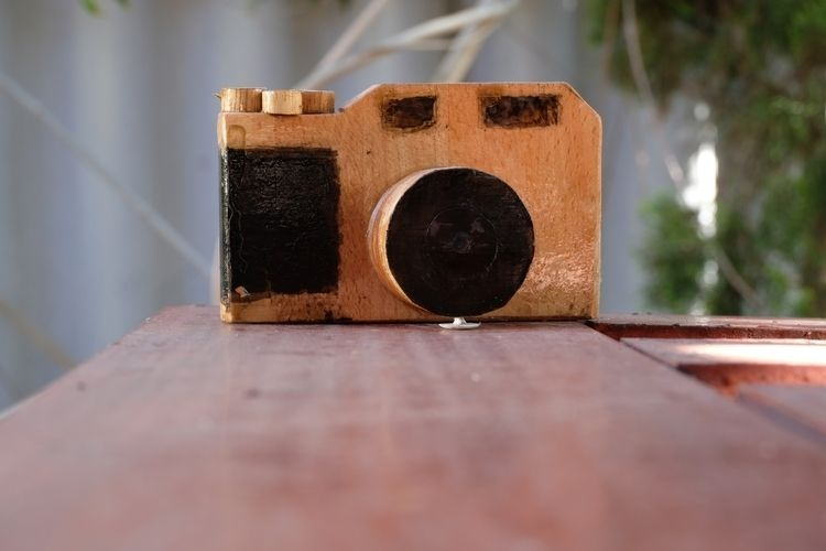 wood, camera, contax - eansyere | ello