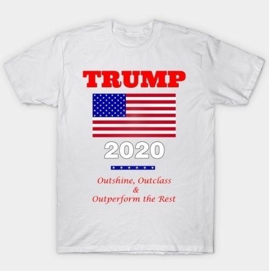 Trump 2020 - Outshine, Outclass - pieterhb   ello