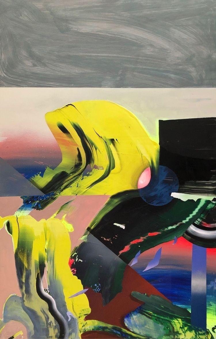 Illusions series, painting acry - helenagarza | ello