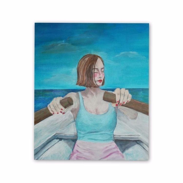 Home Acrylic Canvas 46 55cm 202 - enniswan | ello