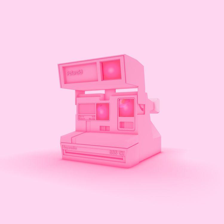 Polaroid - 3D, C4D, Model, Camera - vjaimy | ello