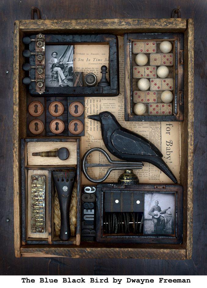BLUE BLACK BIRD Object Assembla - dwaynefreeman | ello