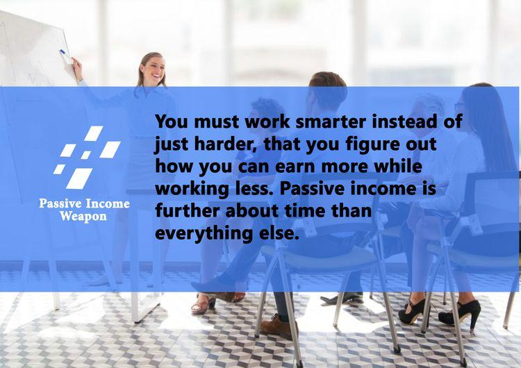 earn passive income month? idea - passiveincomeweapon | ello