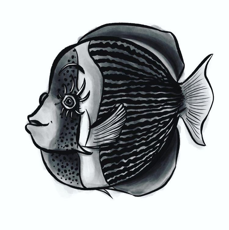 day 1 6 animals - fancy fish ch - borianag | ello
