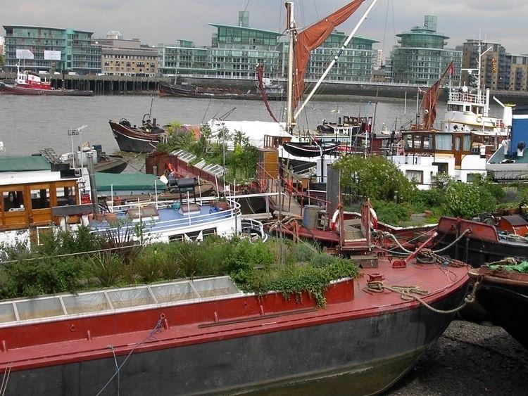 Long Lost London - london, barges - blueskipper   ello