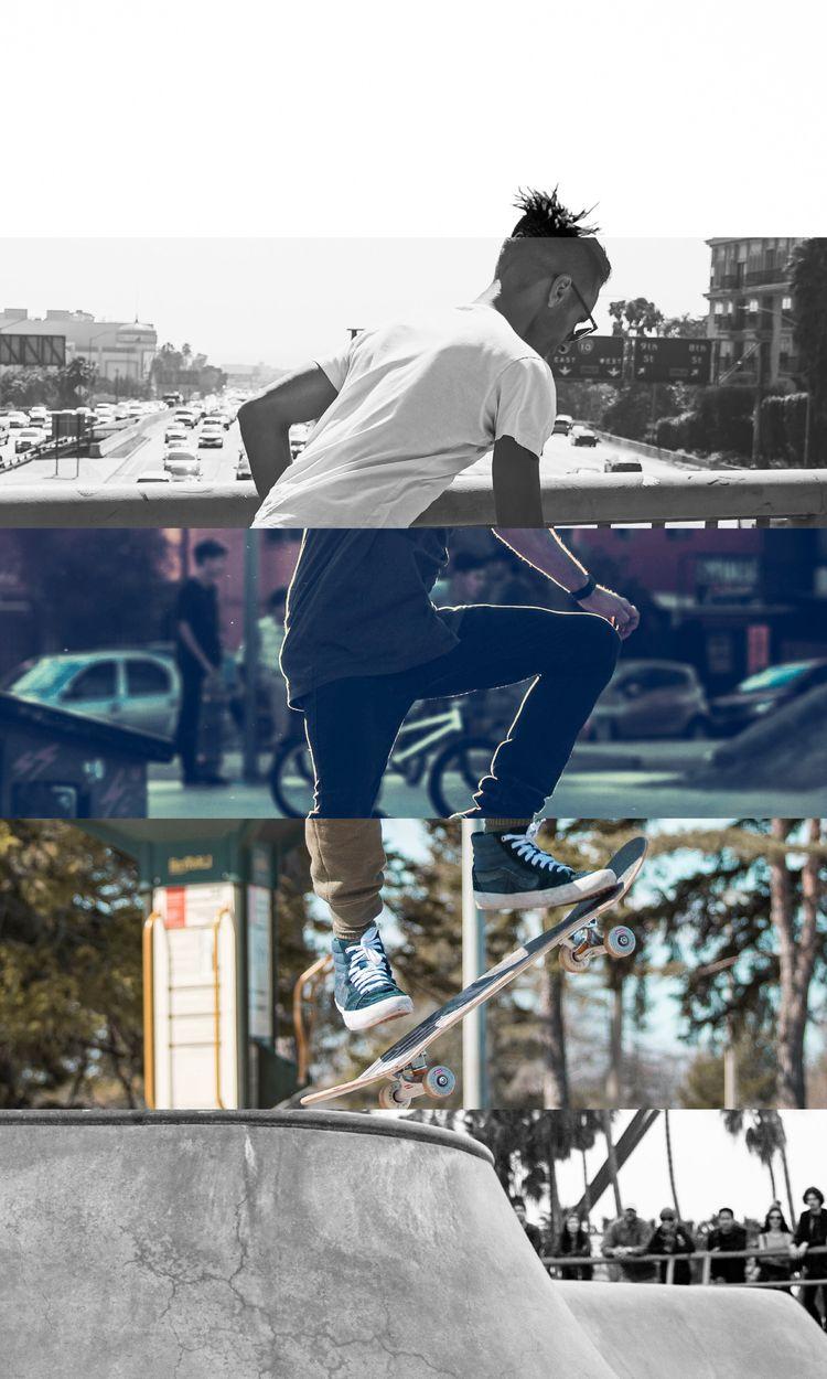 SKATERS SLICES - design, skate, adobe - ferreiraricardo | ello