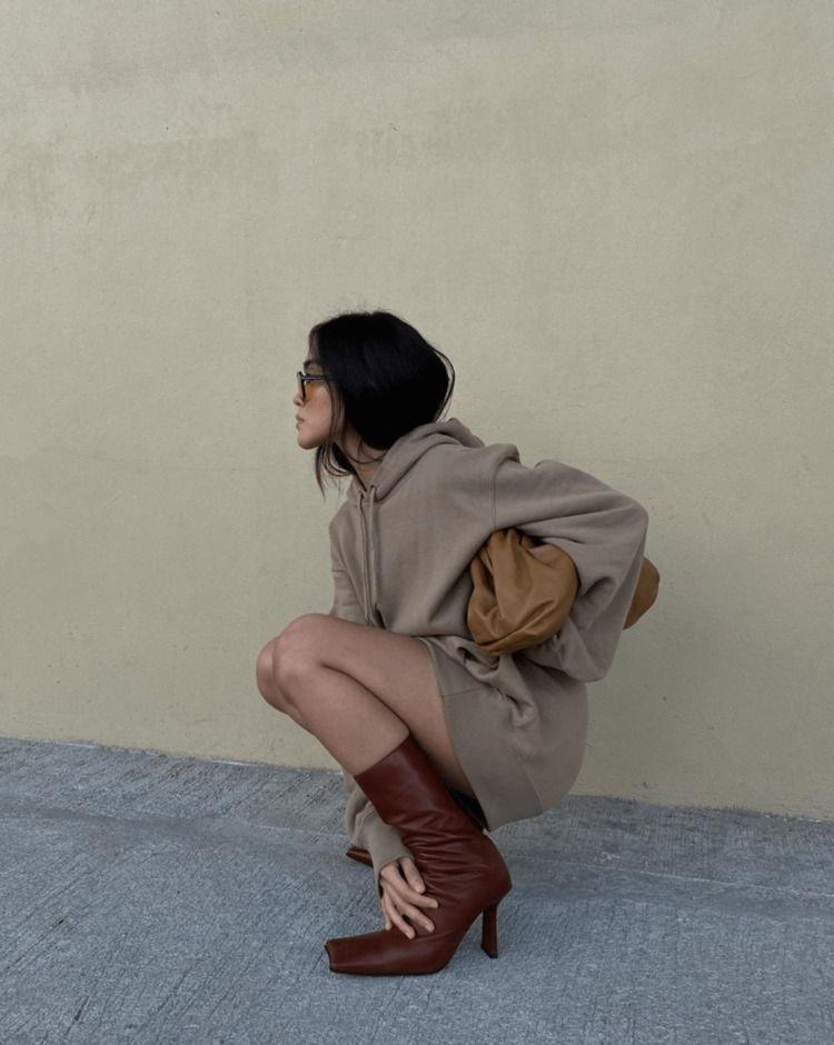 Sweatshirt Dresses Cozy Fall Kn - thecoolhour   ello