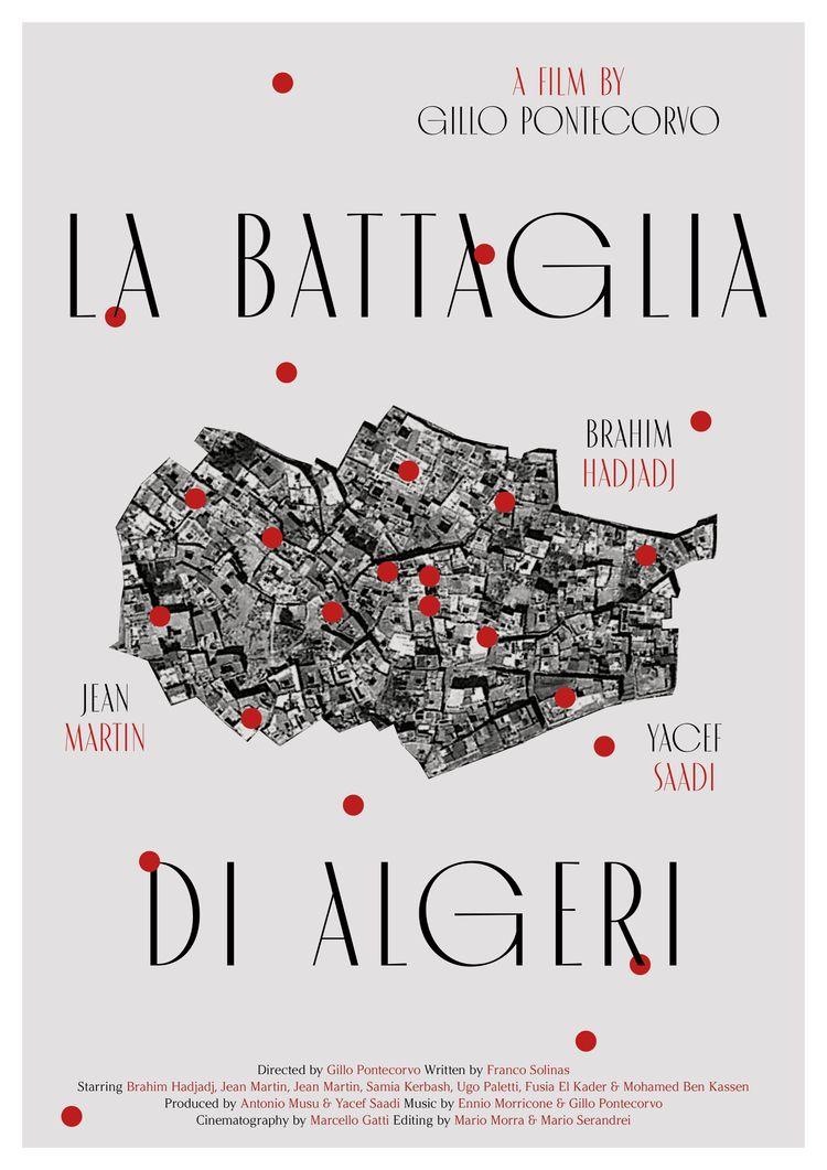 Film poster La battaglia di Alg - sarahschrauwen | ello