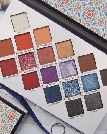 lavish eyeshadow palette 18 lux - gourmandegirls | ello