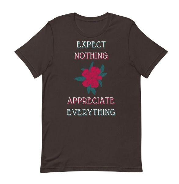 , grateful - Appreciate_Everything_T_shirt - monteblanca | ello