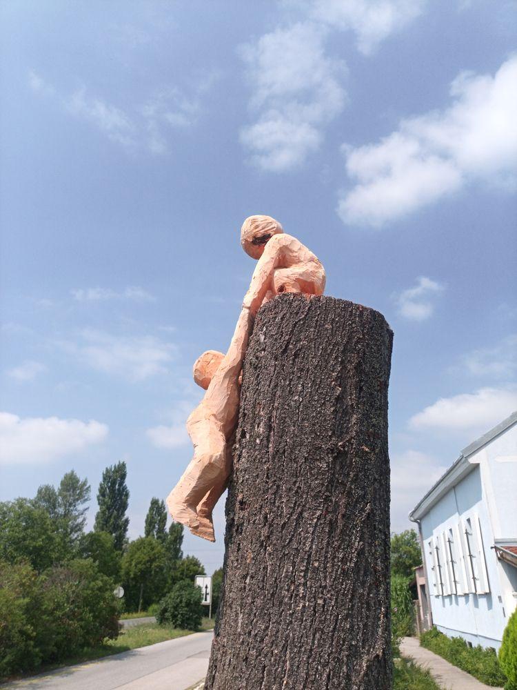 Helferleins, limewood, 120cm, A - andreasmathes | ello