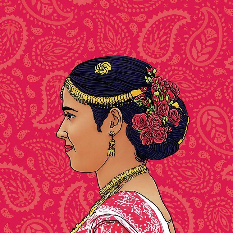 Gorgeous Sri Lanka bride dresse - digitalillustrationworks | ello