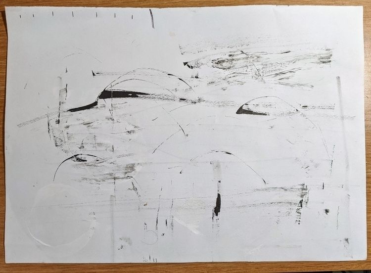 Abstract textured drawing based - gfisher | ello