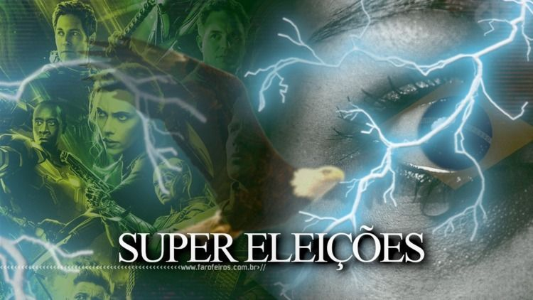 Super Eleições - Besteirol, SuperEleições - rockerz   ello