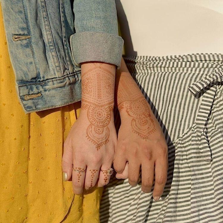 Matching Henna Tattoo Kit Peopl - mihenna | ello