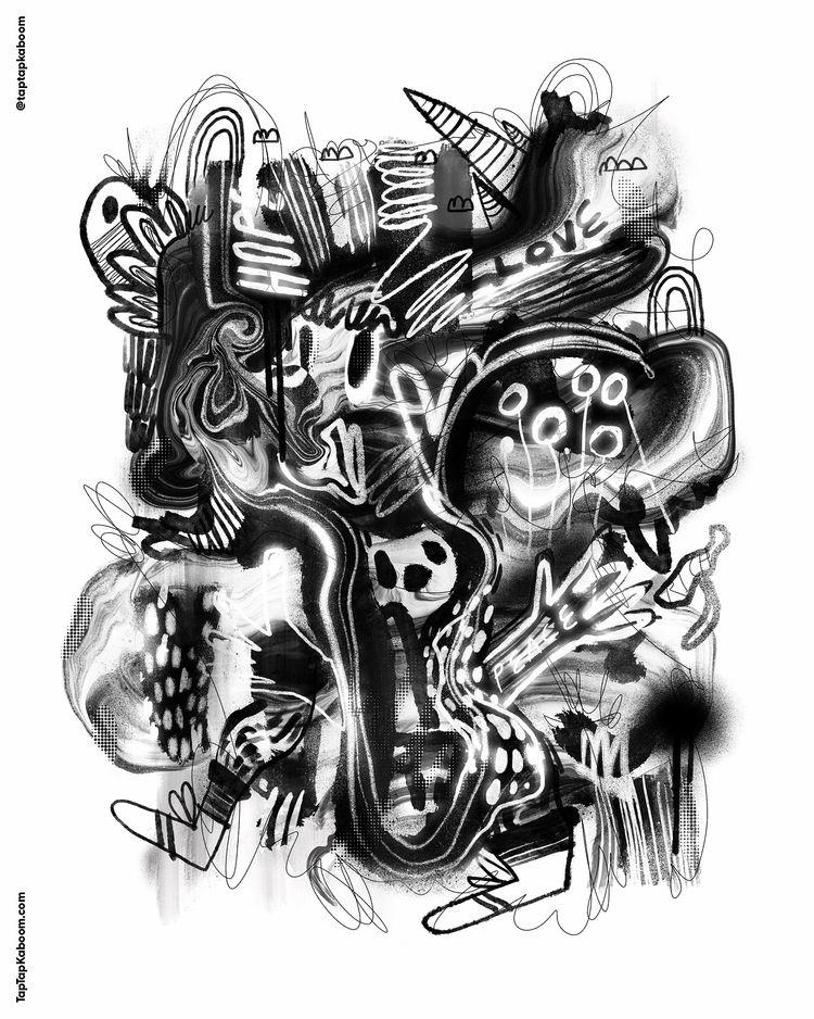 27 October 2020 - illustration, doodle - taptapkaboom | ello