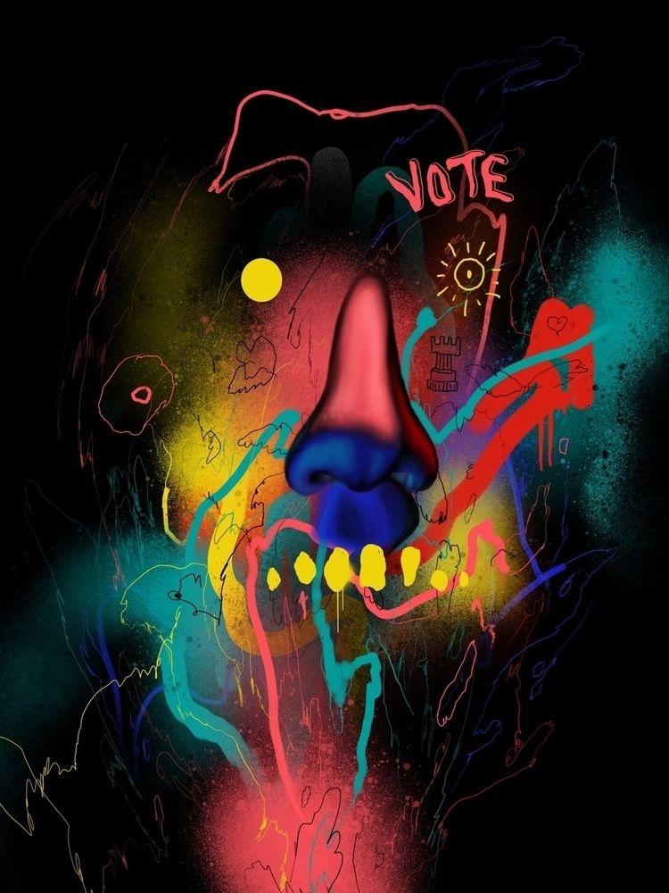 Vote - single edition hand embe - anthonyhurd | ello