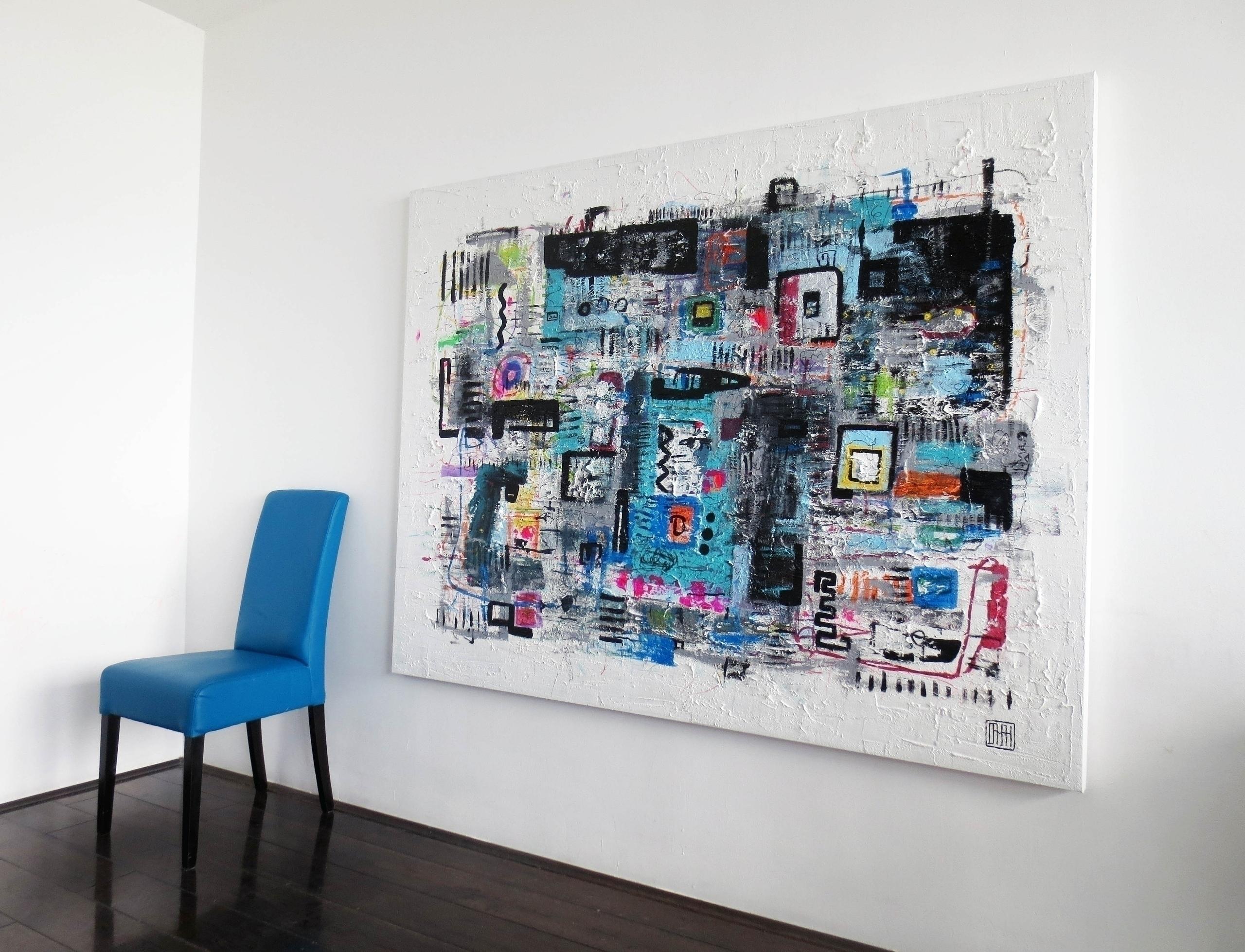 sold A117 acrylic canvas 140x18 - damianpavlovic | ello