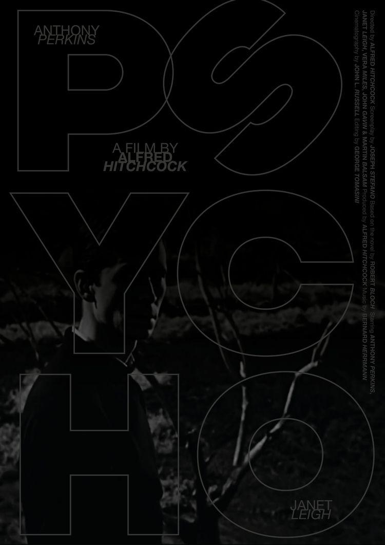 Film poster Psycho (USA, 1960 - doublebillposters - sarahschrauwen | ello