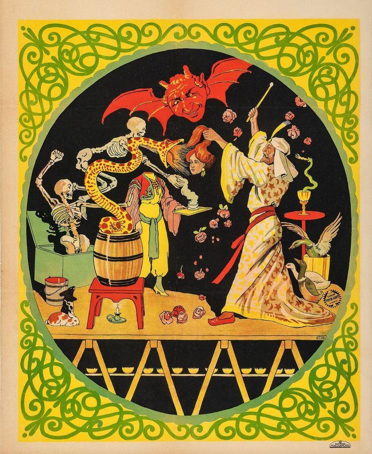 Adolph Friedlander: magic show  - arthurboehm | ello