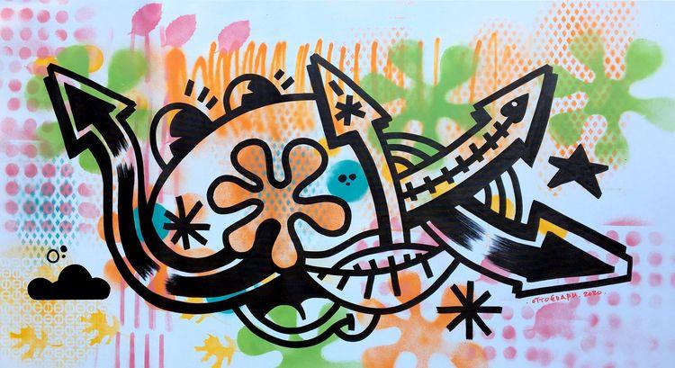 ottograph painting - party peop - ottograph   ello