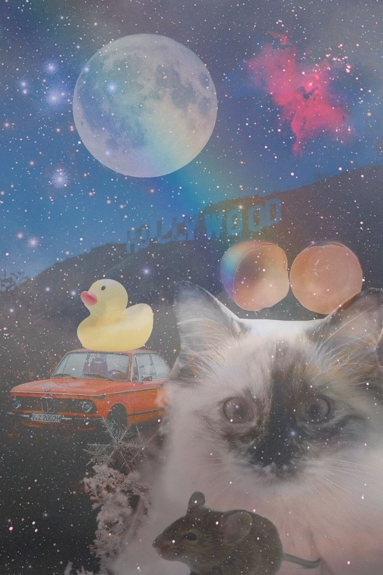 collage birthday - art, collageart - tamaramamixtape   ello
