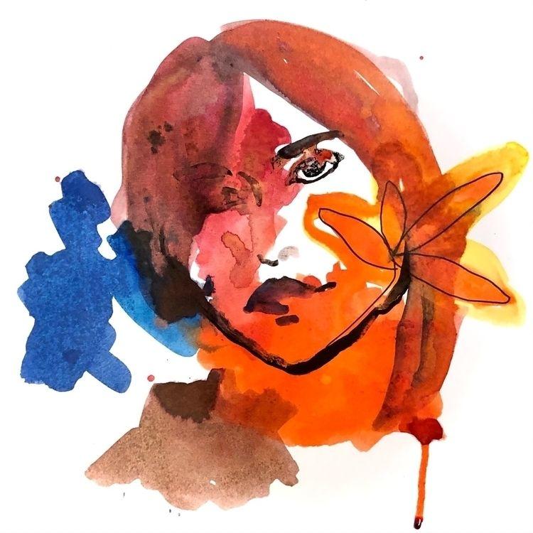 Face - paper, ink - vasagatan | ello