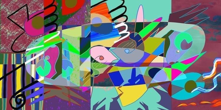 Sniff 2020, digital painting, 1 - tonyvandenboomen | ello