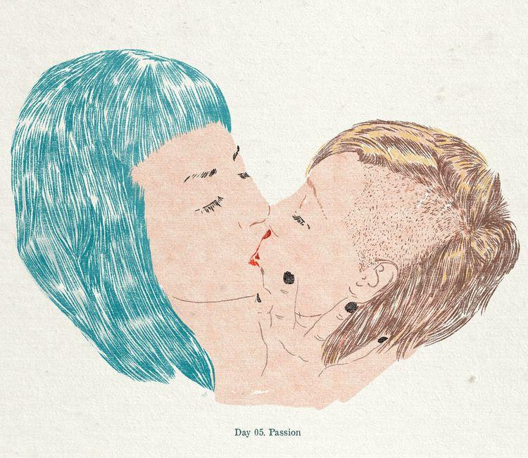 Passion - lockdraw, illustration - zoe_vadim   ello
